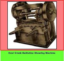 Over crank shearing